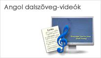 Gyakorlás angol dalszöveg-videókkal